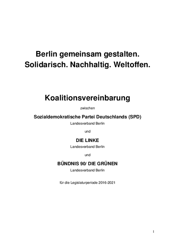 Link zum Download der Koalitionsvereinbarung